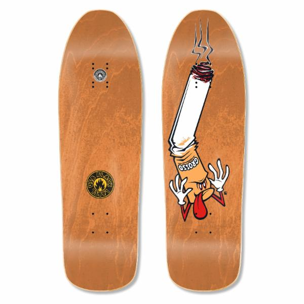 "Black Label Jeff Grosso Butthead 9.63"" Guest Deck - Orange"