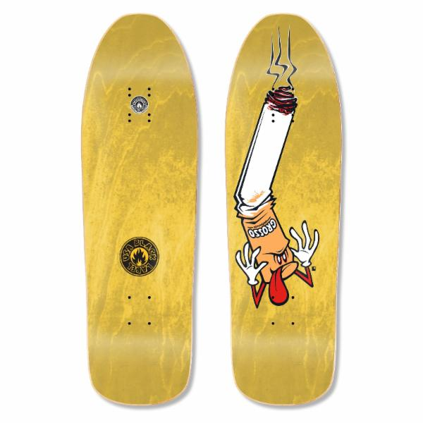 "Black Label Jeff Grosso Butthead 9.63"" Guest Deck - Yellow"