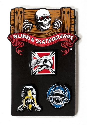 Blind Heritage Re-Issue Pin Pack