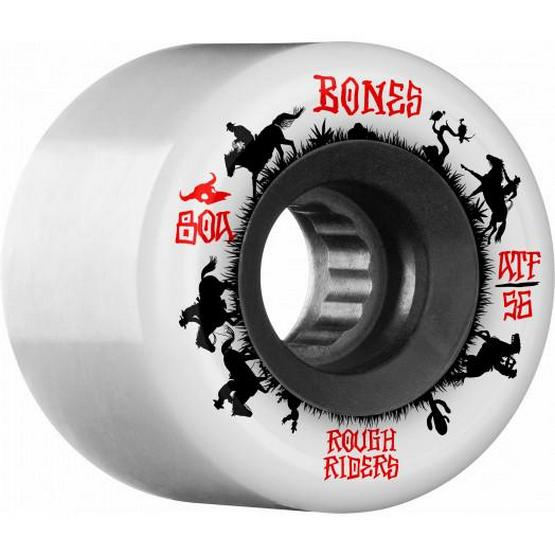 Bones ATF Rough Riders Wranglers 59mm / 80a White