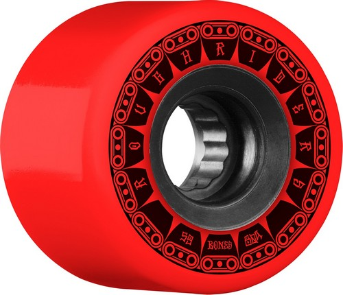 Bones ATF Rough Riders Tank Wheels 59mm / 80a Red