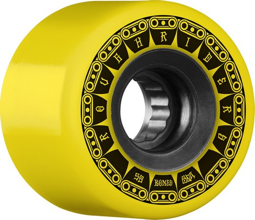 Bones ATF Rough Riders Tank Wheels 59mm / 80a Yellow