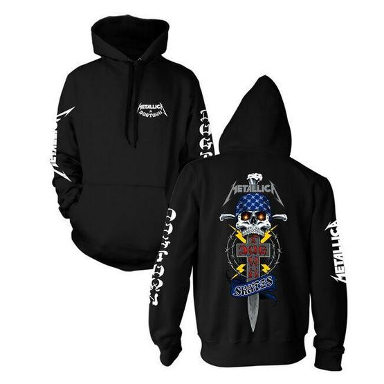 Dogtown x Metallica Limited Edition Hoodie Black / Large