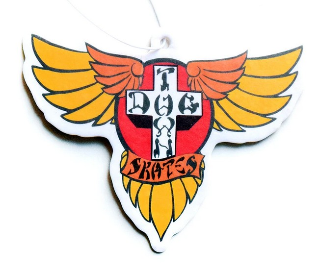 Dogtown Skates Wings Air Freshener / Cherry Scent