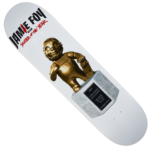 "Deathwish Jamie Foy Big Boy Trophy 8.0"" Deck"