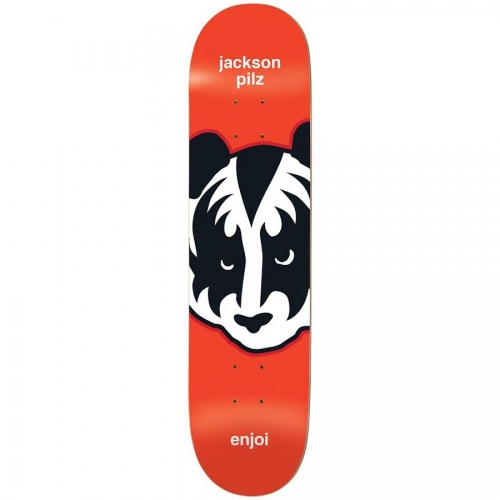 "Enjoi Kiss Pilz R7 Deck - 8.25"" x 32.1"" - Red"