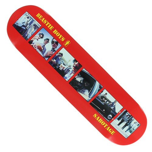 "Girl x Beastie Boys Sabotage 8.25"" Deck"