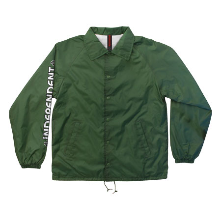 Independent Bar/Cross Windbreaker - Green / XL