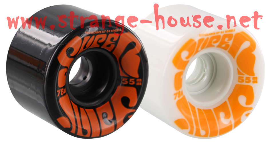 OJ Super Juice Mini Wheels 55mm / 78a Black / White Mix