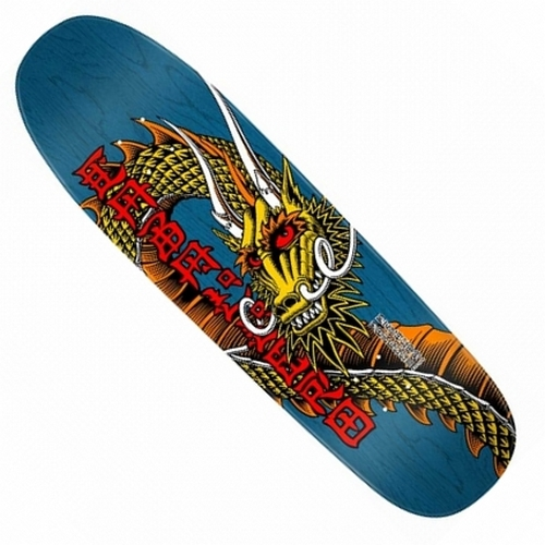 Powell Peralta Steve Caballero Ban This Re-Issue Deck / Blue