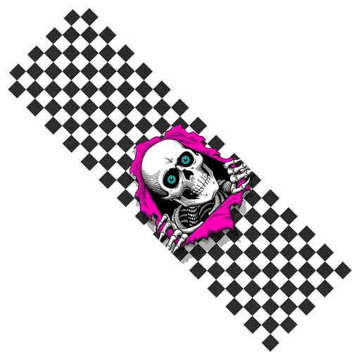 "Powell Peralta Ripper Checker 10.5"" x 33"" Griptape"