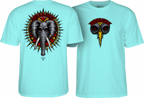Powell Peralta Mike Vallely Elephant T-Shirt Celadon / XXL