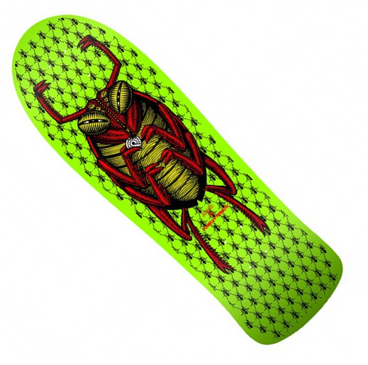 "Powell Peralta OG Bug 9.85"" Re-Issue Deck / Green"