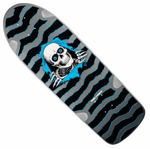 "Powell Peralta OG Ripper 3 Re-Issue Deck 10"" x 31"" Silver"