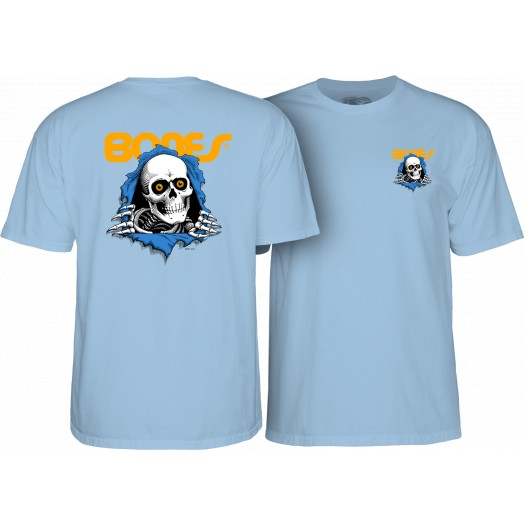Powell Peralta Ripper T-Shirt Lt. Blue / XL