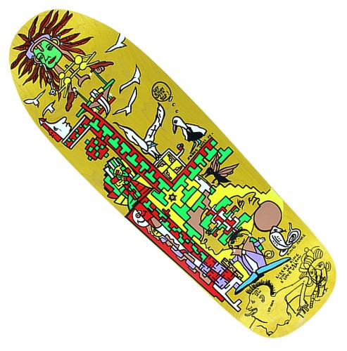 Pocket Pistols Jeremy Henderson / Gonz Lost Art Ltd. Ed. 9.8""