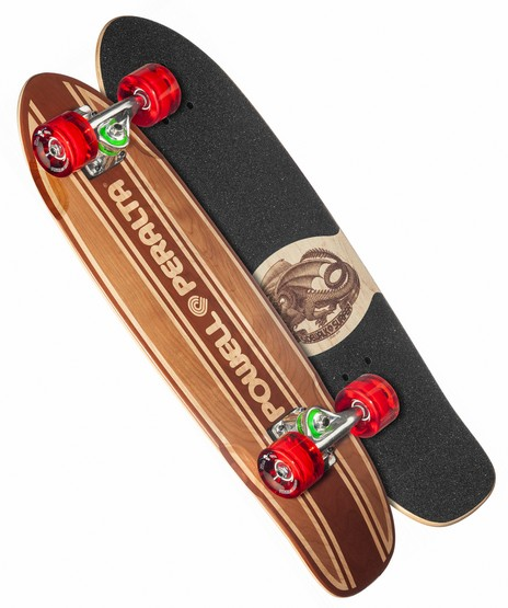 "Powell Peralta Sidewalk Surfer Inlay Natural 7.75"" Complete"