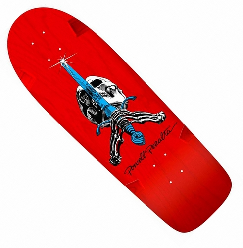 "Powell Peralta Ray ""Bones"" Rodriguez Re-Issue 10"" x 30"" Red Deck"