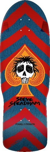 "Powell Peralta Steve Steadham Spade Re-Issue 10.0"" Blue / Red"