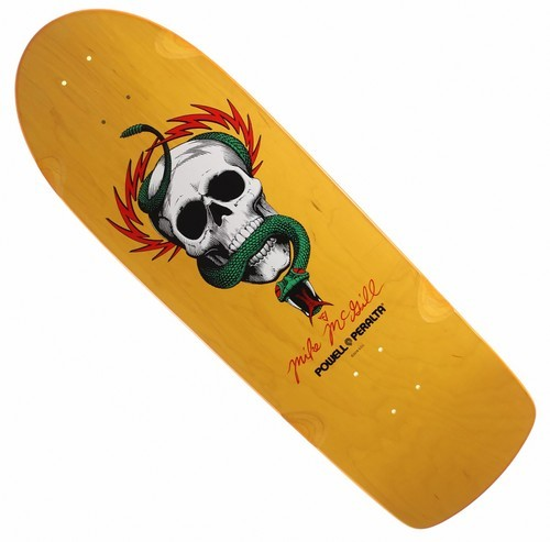 Powell Peralta McGill Skull 'n Snake 10.0 Deck - Yellow