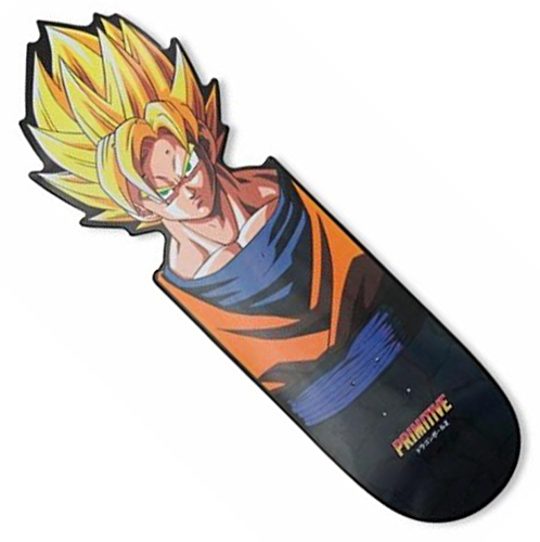 "Primitive x DBZ Team CNC Goku 10.0"" Deck"