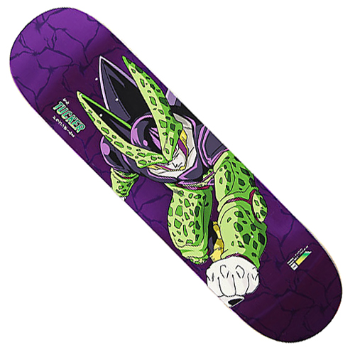 "Primitive x DBZ Tucker Perfect Cell 8.0"" Deck"