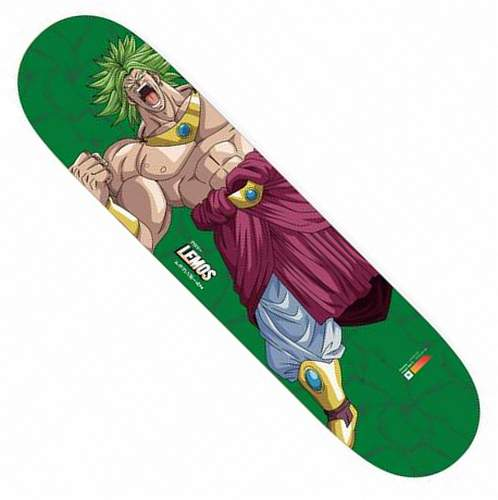 "Primitive Tiago Lemos Broly Power Up 8.38"" Deck Green"