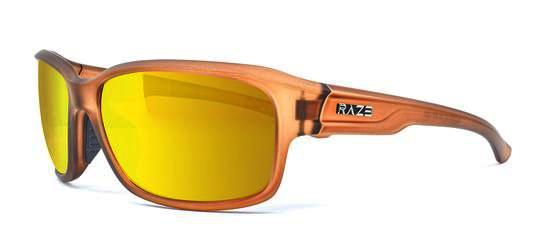 Raze Ledge Crystal Tan HD Sunglasses