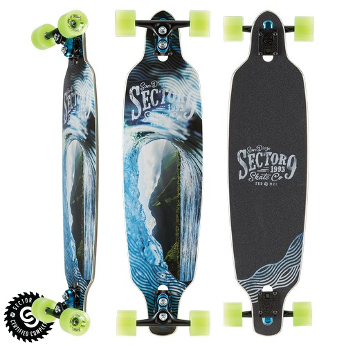 "Sector 9 Echo Fractal Complete 9"" x 36"""