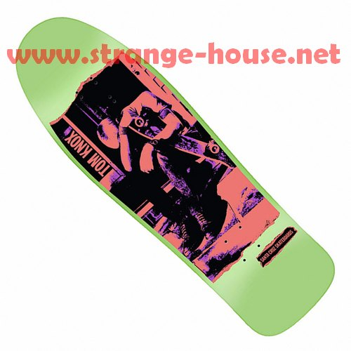 "Santa Cruz Tom Knox Discord Re-Issue 9.98"" Deck / Mint Dip"