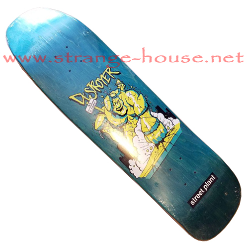 "Street Plant Destroyer 8.75"" Deck - Blue"