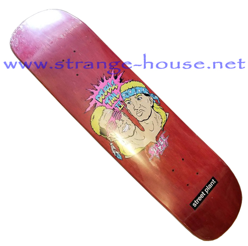 "Street Plant Double Tail II 8.325"" Deck - Red"