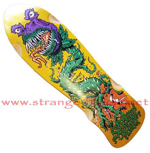 "Street Plant Monster Plant Street Axe 9.5"" Deck - Yellow"