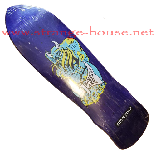 "Street Plant Street Axe Viking 2016 / 9.5"" Deck Purple Stain"