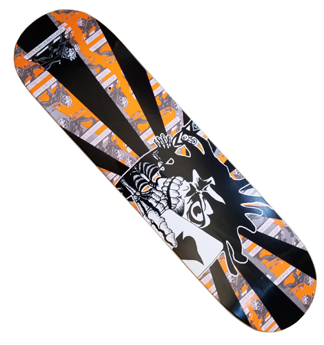 "Stedmz Ace of Spade Limited Upside Down Graphic 8.0"" Deck"