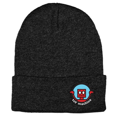 Toy Machine Robot Beanie Black