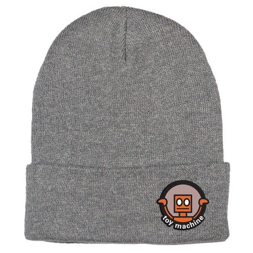 Toy Machine Robot Beanie Gray