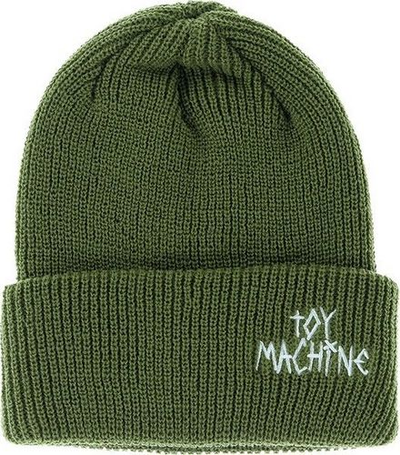 Toy Machine Text Logo Beanie Army