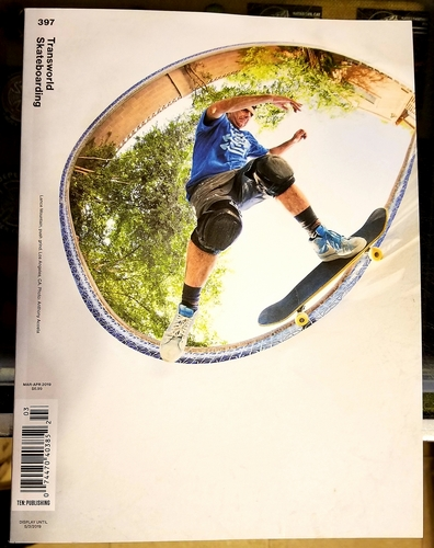 Transworld Skateboarding #397 / Lance Mountain Cover