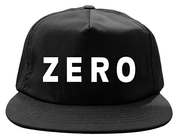 Zero Army Unstructured Snapback Hat - Black