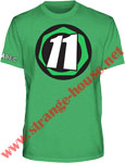 Abec 11 Core 11 Premium Slim Fit T-Shirt Green / XL
