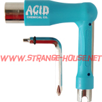 Acid Chemical Co. Space Tool / 7 - Tools in One / Blue