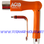 Acid Chemical Co. Space Tool / 7 - Tools in One / Orange