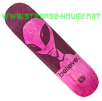 "Alien Workshop Believe 8.0"" Hexmark Deck - Pink"