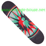 "Alien Workshop Starburst 8.25"" Deck - Black Stain"