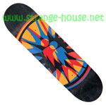 "Alien Workshop Starburst 8.125"" Deck - Black Stain"