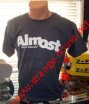 Almost Logo T-Shirt Charcoal / Small