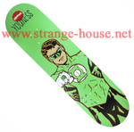 "Almost R7 Super Hero Youness Green Lantern 8.0"" Deck"