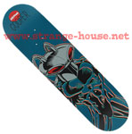 "Almost R7 Super Villian Cooper Black Manta 8.0"" Deck"