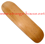 "Alva 8.75"" Blank Deck / Natural Finish"